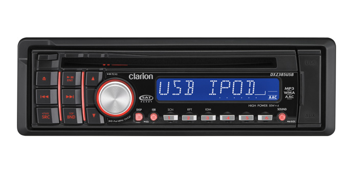 Clarion Car Stereo: Clarion DXZ385USB CD Receiver