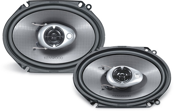 Kenwood 6xspeakers