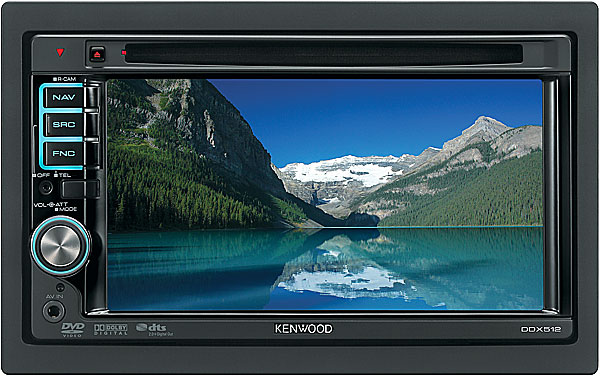 kenwood ddx512 double din dvd receiver top car audio. Black Bedroom Furniture Sets. Home Design Ideas
